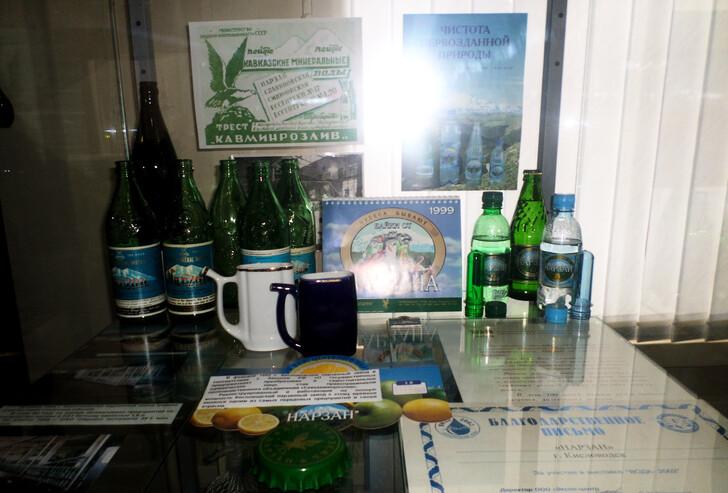 Минеральная вода из Кисловодска
