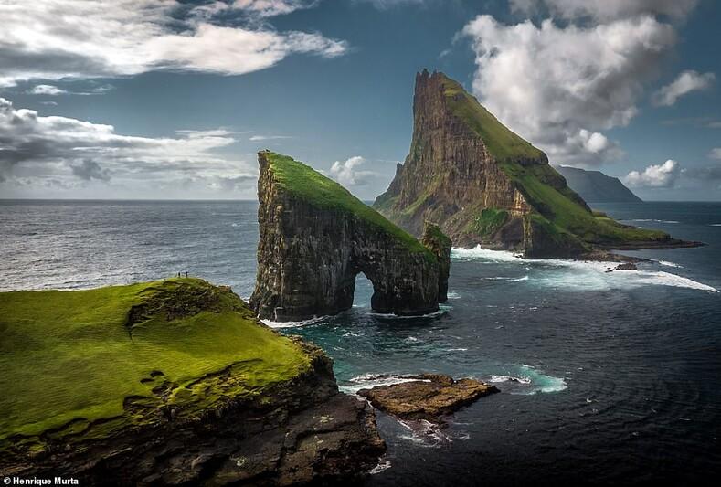 Фарерские острова, снятые дроном - архипелаг просто не выглядит настоящим