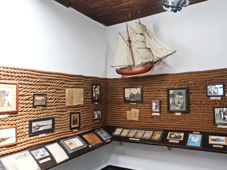 В музее А. Грина