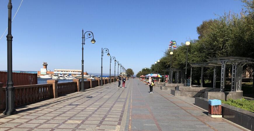 Спортивная набережная<br/> во Владивостоке