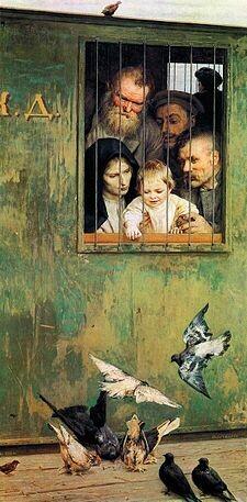 Всюду жизнь, Н.А.Ярошенко (фото из Интернета)