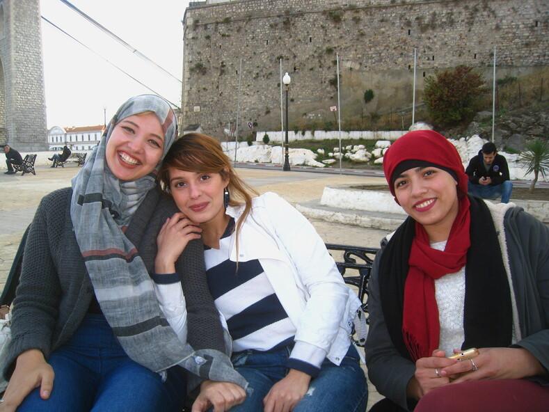 Алжирские девчата из города Константина.ПРОДОЛЖЕНИЕ СЛЕДУЕТ