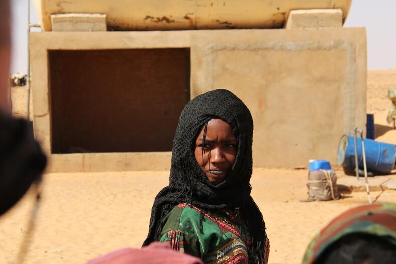 Девушка из Сахары, Чад.
