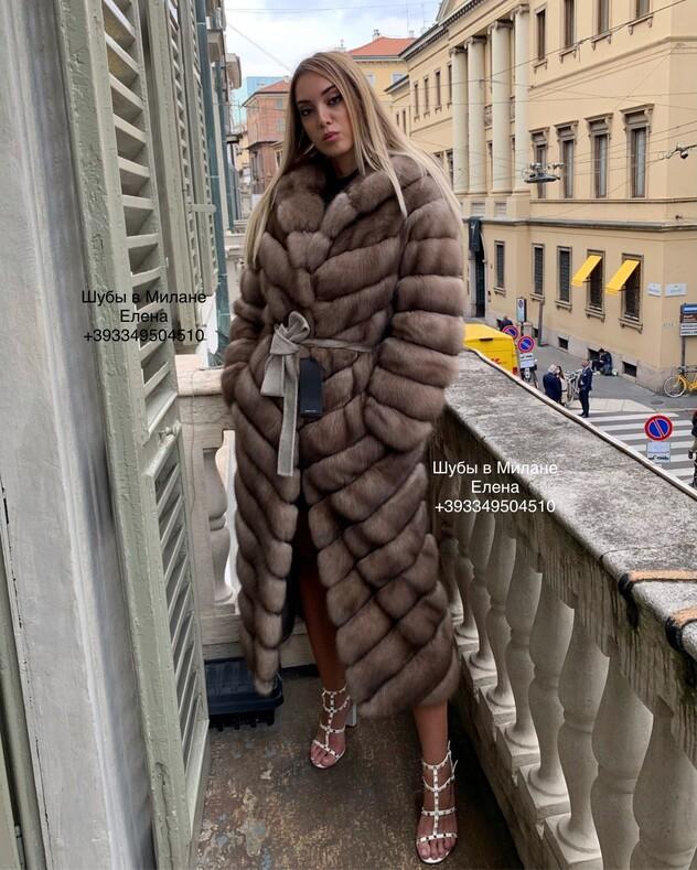 Шубы в Милане, Италия, меховые фабрики
