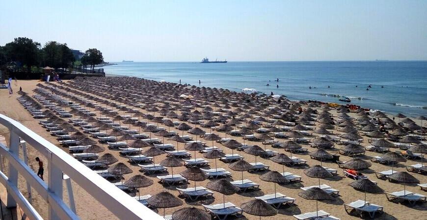 Пляж Гюнеш Флория <br/> Florya Güneș Plajı