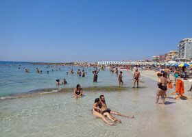 Пляжи Галлиполи (Апулия, Италия) на Ионическом море