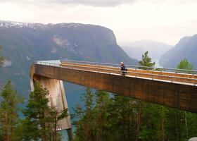 По Норвегии на авто: дорога до Бордасгьелета