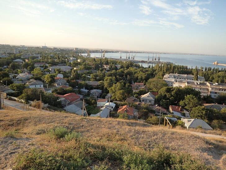 Вид с горы Митридат