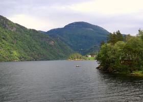 По Норвегии на авто: дорога до Бергена