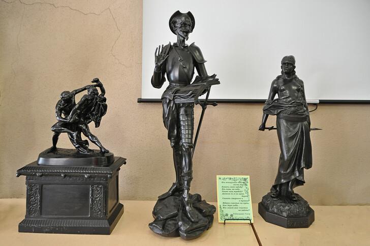 В музее художественного литья в г.Касли