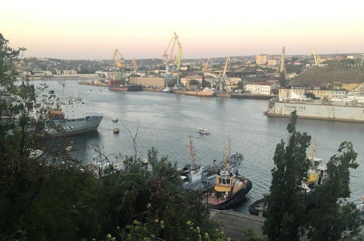Обзорная площадка с видом на Корабельную сторону