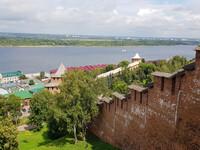 Нижний Новгород - Виды со стен Нижегородского