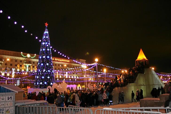 Новогодний Челябинск