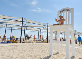 Лучшие пляжи Евпатории.