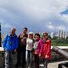 Экскурсия по Трсатскому замку для туристов из Китая
