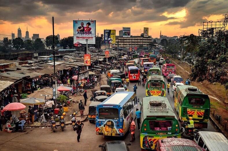Чем ярче, тем лучше матату - тюнингованные кенийские маршрутки