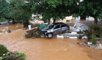 Остров Крит пострадал от наводнения (ВИДЕО)