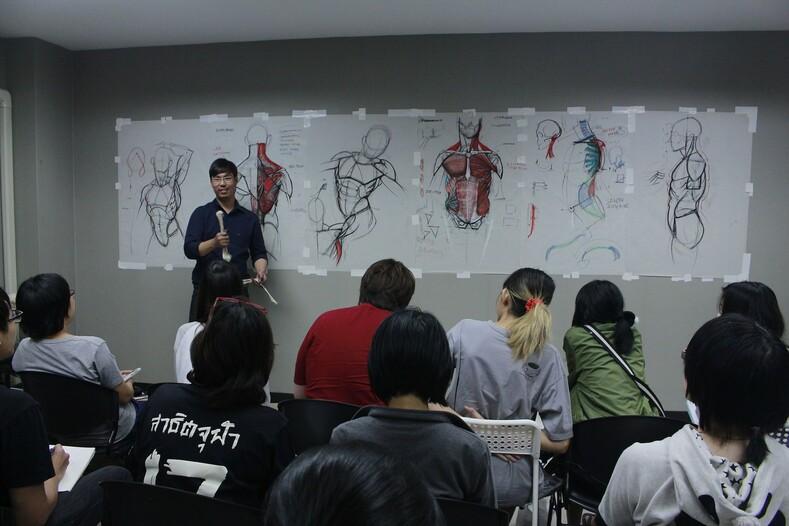 Лекции этого преподавателя никто не пропускает анатомия для художников по-тайски
