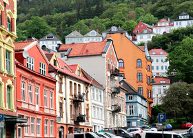 По Норвегии на авто: Берген-1