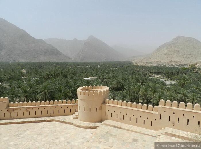 Султанат Оман. Ч - 1. Форт Нахль и горячие источники