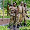 Статуя три солдата, часть Мемориала ветеранов войны во Вьетнаме