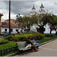 Сломанный мост и эквадорская Куэнка