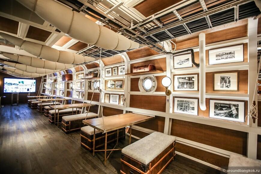 Новый ресторан в Бангкоке - шхуна 1866 года!