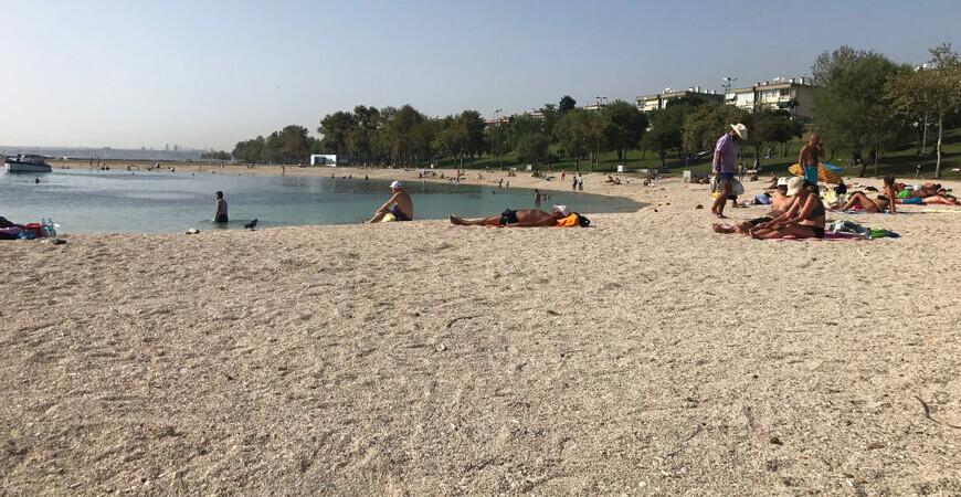 Пляж Ешилькёй