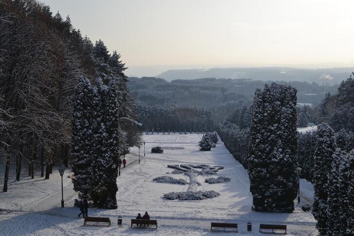Зимний Кисловодск