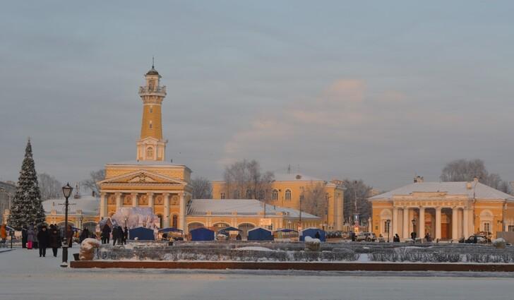 Кострома в январе