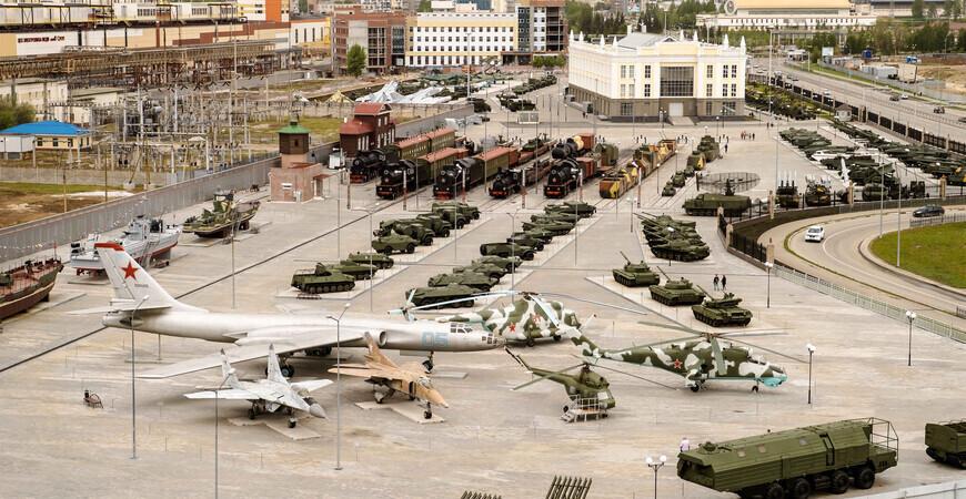 Музей военной техники<br/> в Верхней Пышме