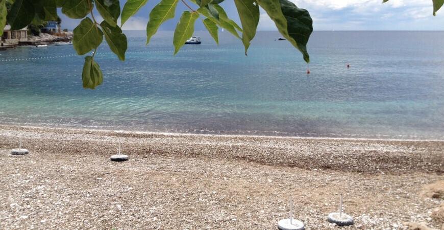 Пляж Milna