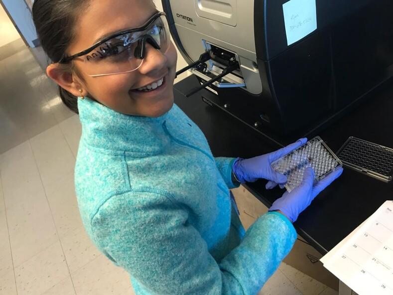 Гитанджали Рао 15-летняя девочка-вундеркинд, названная ребенком года по версии журнала TIME