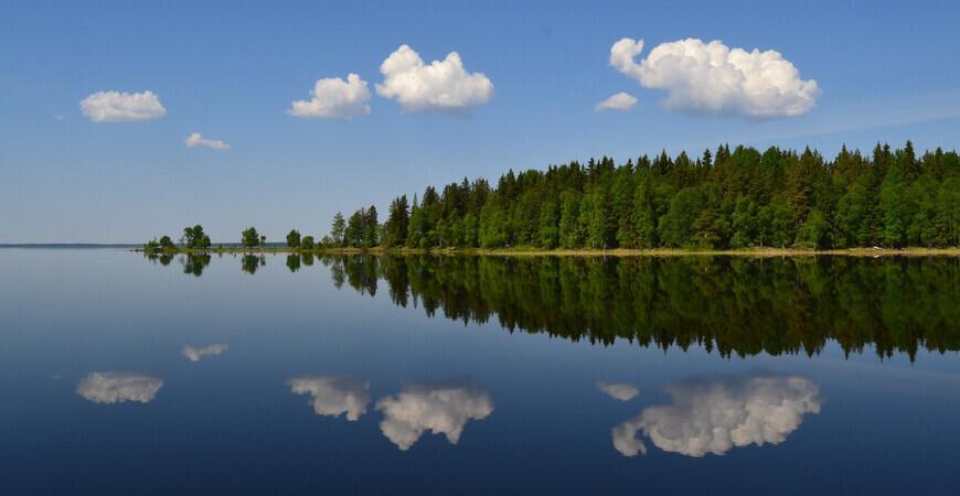 Озеро Водлозеро