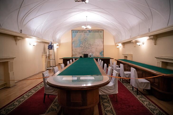 В бункере Сталина