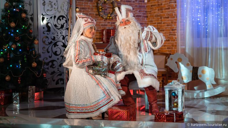 В гости к ЯкшамАтя  в резиденцию мордовского Деда Мороза!