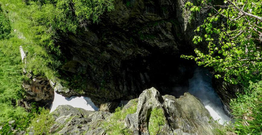 Каньон и водопад </br> Чертова мельница
