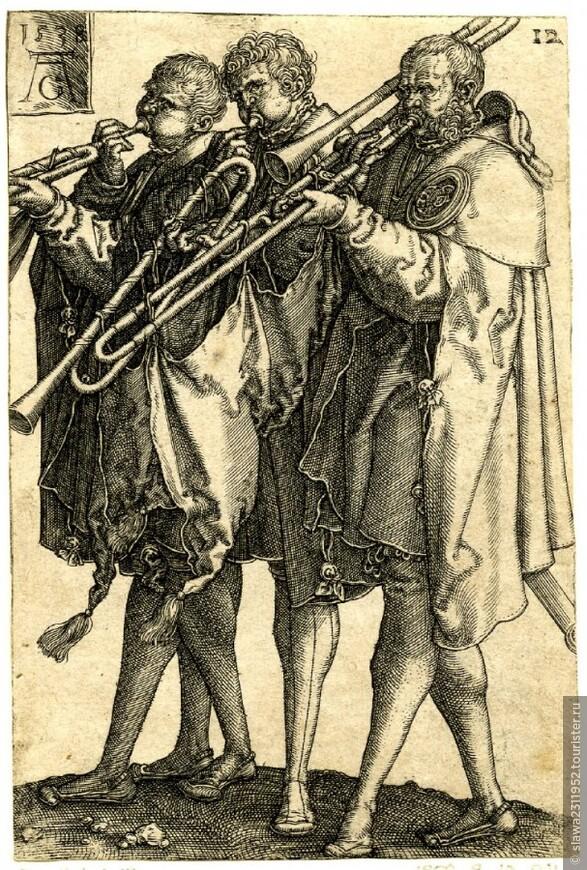 Мессу исполняют уличные музыканты
