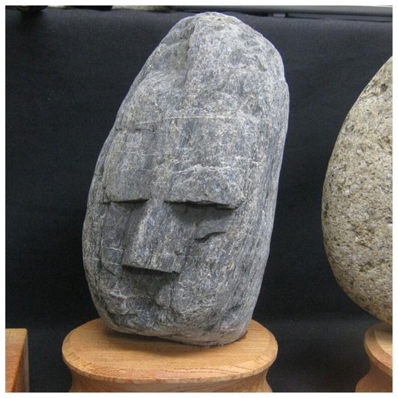 Отец и дочь более полувека коллекционировали камни, похожие на лица людей: сейчас это экспонаты в музее, безумнее и смешнее которых сложно найти