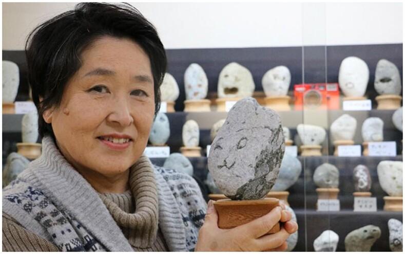 Отец и дочь более полувека коллекционировали камни, похожие на лица людей сейчас это экспонаты в музее, безумнее и смешнее которых сложно найти