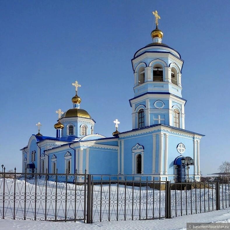 Туристические сокровища Рузаевского района село Мордовская Пишля