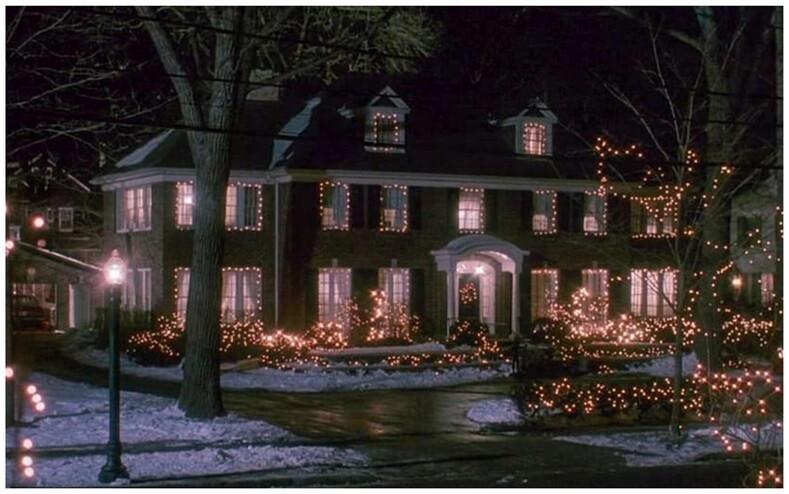 В Сеть попали снимки дома Кевина из легендарного фильма Один дома фото о том, как изменилось здание спустя 30 лет