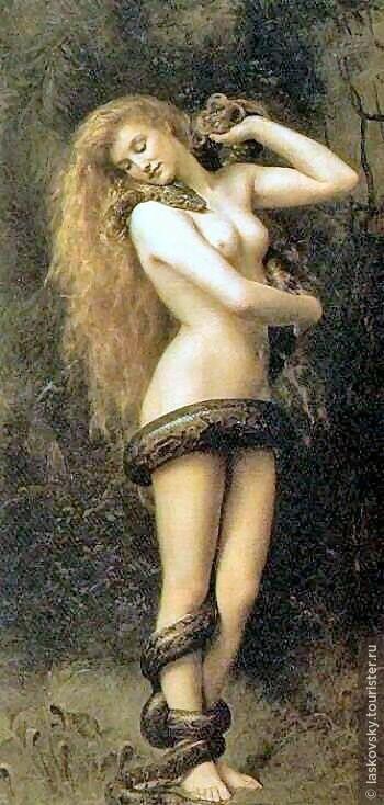 Джон Кольер Лилит (1892)