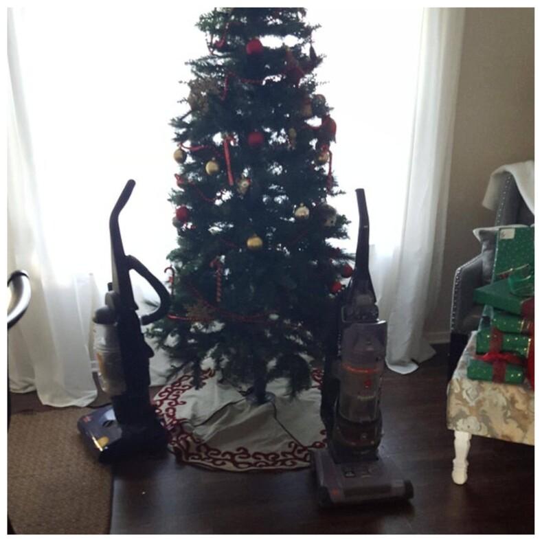 Смешные фото пользователей, которые попытались защитить новогодние елки от домашних животных (получилось гениально)