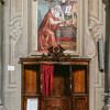 Церковь Всех Святых, Святой Иероним, фреска работы Гирландайо