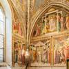 Церковь Санта Мария Новелла, капелла Сан Никола, фрески 14 - 15 век