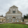 Церковь Санта Мария Новелла, фасад и площадь