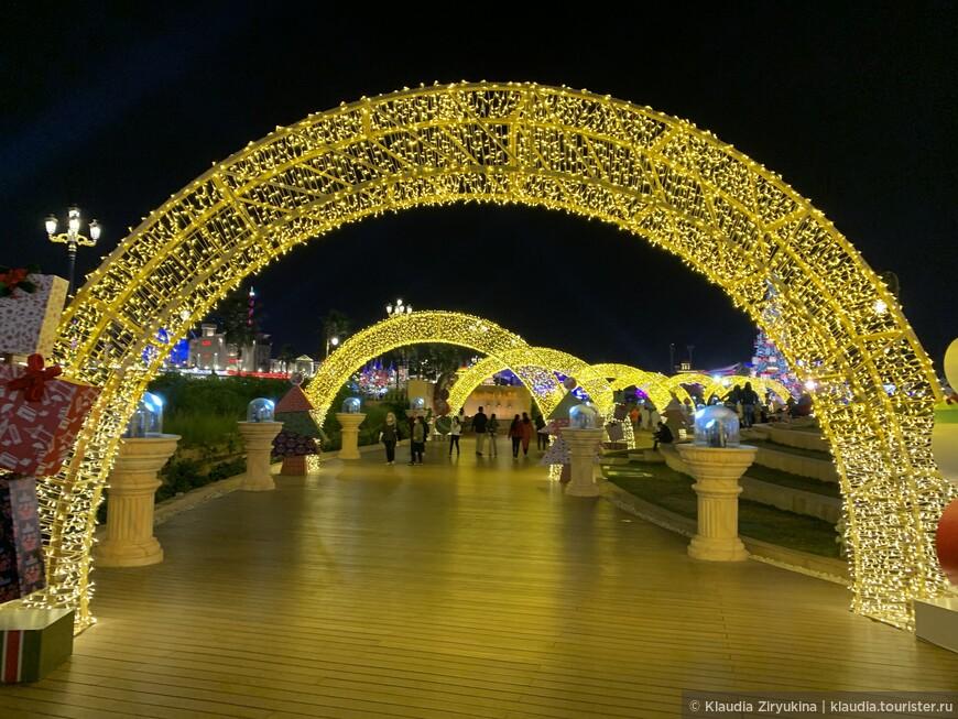 Сказочная деревня — из Эмиратов с любовью