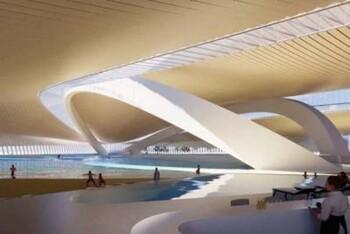 В Москве откроют первый в мире крытый центр для серфинга