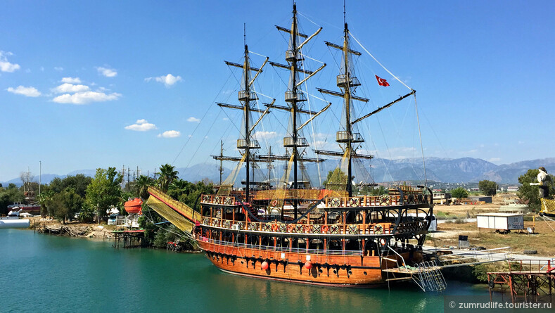 Экскурсия на Яхте Harem Maldiv (Турция, Сиде)